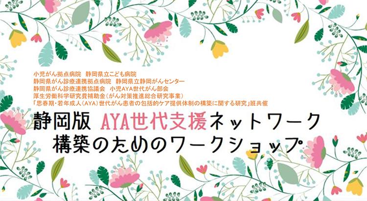 静岡版 AYA世代支援ネットワーク構築のためのワークショップ